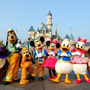 香港迪士尼樂園两日票(現票)