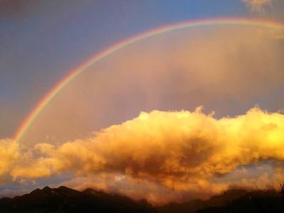 見晴花園彩虹