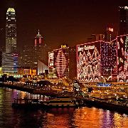 2014香港聖誕節洋紫荊觀光巴士夜遊維港套票(電子票)