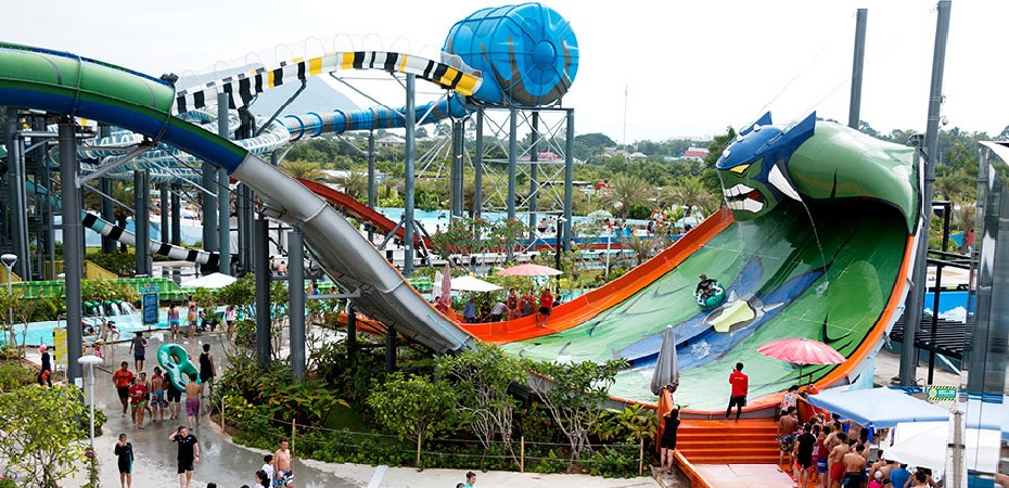 芭堤雅卡通主題水上樂園門票,泰國卡通水上樂園門票