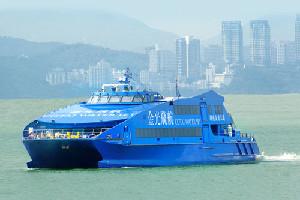 金光飛航-香港港澳碼頭至澳門氹仔碼頭往返船票(日夜航)