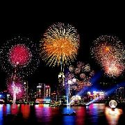 香港洋紫荊遊船煙花匯演自助晚餐(2019國慶節)