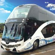 龜島-曼谷巴士+輪渡票(單程)