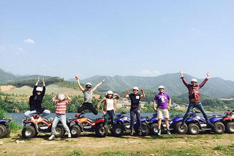 韓國南楊州+晨靜樹木園+江村ATV體驗一日遊,韓國江村ATV一日遊,韓國晨靜樹木園一天團