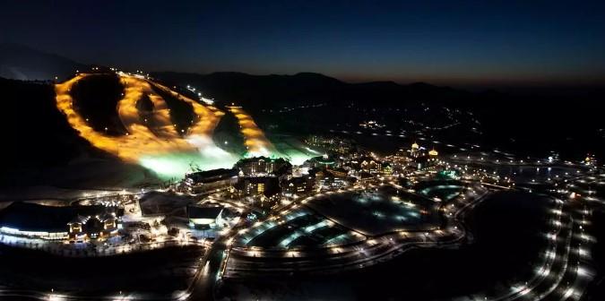 The Alpensia Resort 度假村滑雪場