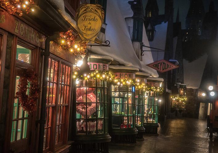 環球影城聖誕節!霍格華茲冬季魔法之夜!