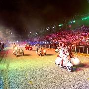 新加坡F1賽道復古Vespa Sidecar騎行體驗